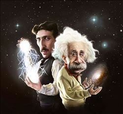 Nikola Tesla Ve Albert Einstein